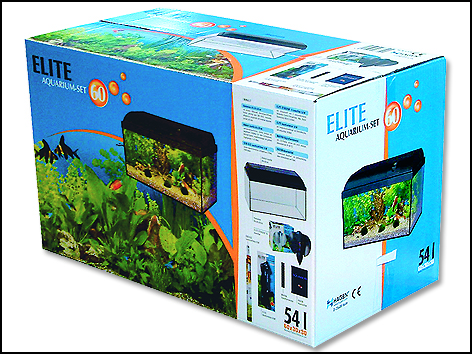 aquarium set elite basic 60 54l unido zoo market teplice zverimex online. Black Bedroom Furniture Sets. Home Design Ideas