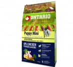 ONTARIO Puppy Mini Chicken & Potatoes & Herbs (6,5kg)